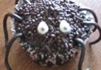 Cupcake araignée