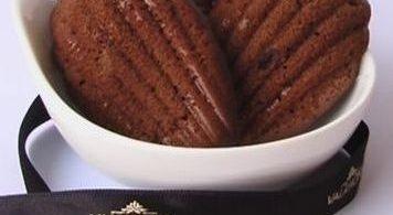 Madeleines au chocolat Valrhona