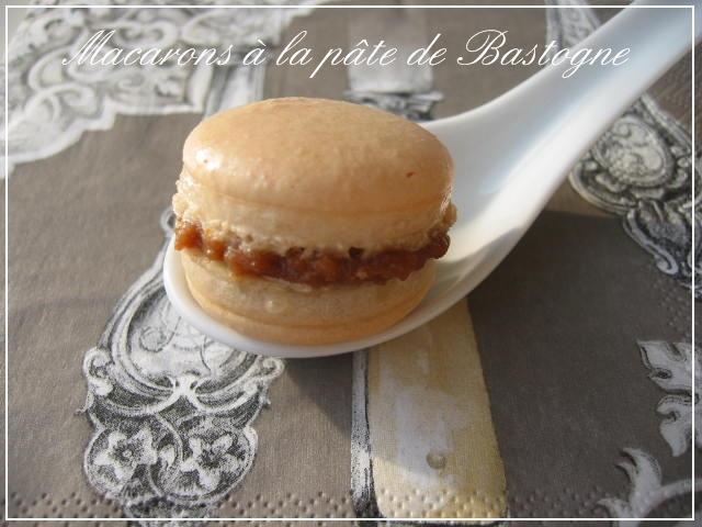 Macarons aux Bastogne