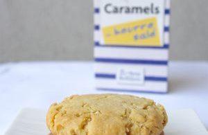 Biscuits à la noix de cajou et caramel