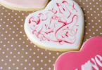 Biscuits décorés pour la St Valentin