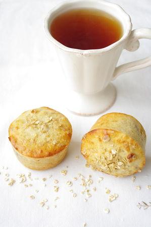 muffins banane noix et flocons d 39 avoine i love cakes. Black Bedroom Furniture Sets. Home Design Ideas