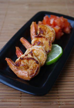 crevettes-marinees-citron-vert