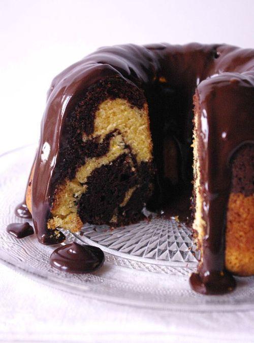 Mabré chocolat orange Cointreau et glaçage chocolat