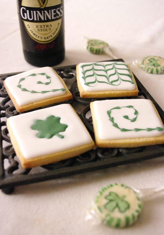 Biscuits décorés pour la St Patrick