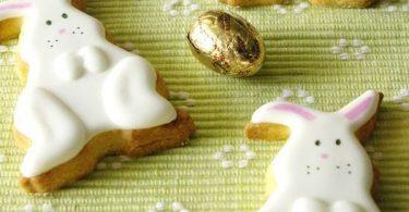 Biscuits décorés pour Pâques