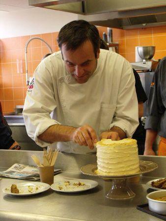 Chef Damien au Salon du blog culinaire