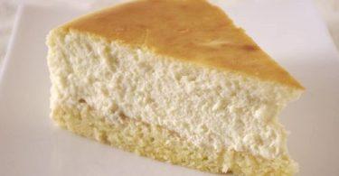 Une part du meilleur cheesecake de chez Junior's
