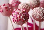 Cake pops de St Valentin
