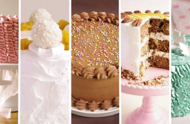 Des exemples de mes layer cakes