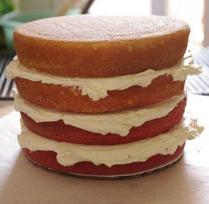 Montage d'un layer cake