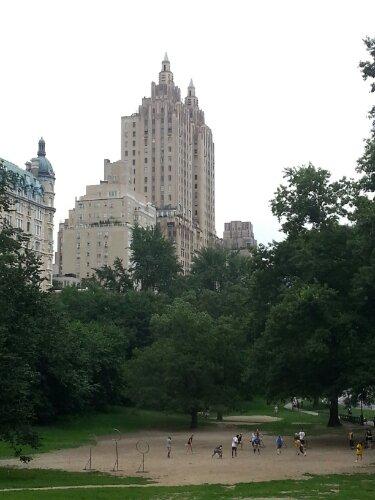 Quiditch dans Central Park