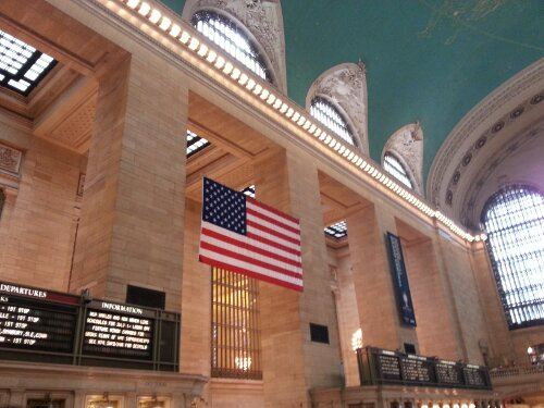 Grand central station à New York