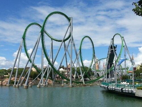Islands of Adventure The Hulk