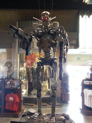 Universal studios Terminator