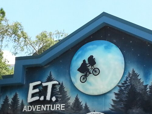 Universal studios E.T. adventure