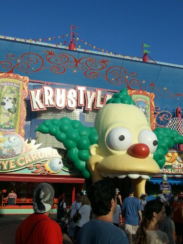 Universal studios Krustyland