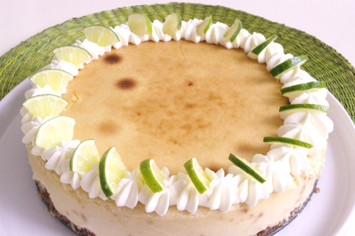 Cheesecake au citron vert des îles Keys