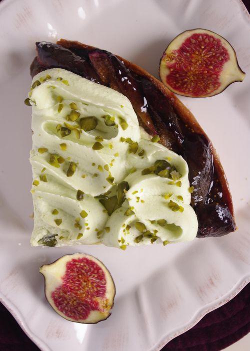 Une crème mousseline aérienne à la pistache