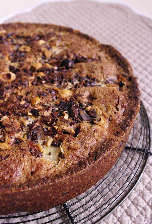 Gâteau poire noisettes déclinable à volonté