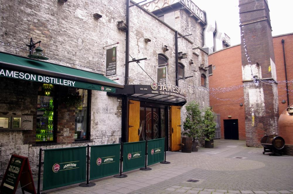 Jameson distillery Dublin Ireland