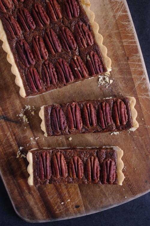 Tarte chocolat noix de pécan