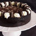 Cheesecake chocolat vanille avec des Oreos