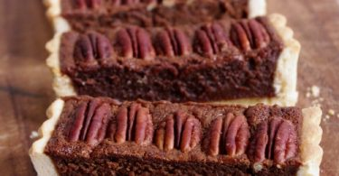 Une tarte gourmande au chocolat et noix de pécan | I Love Cakes