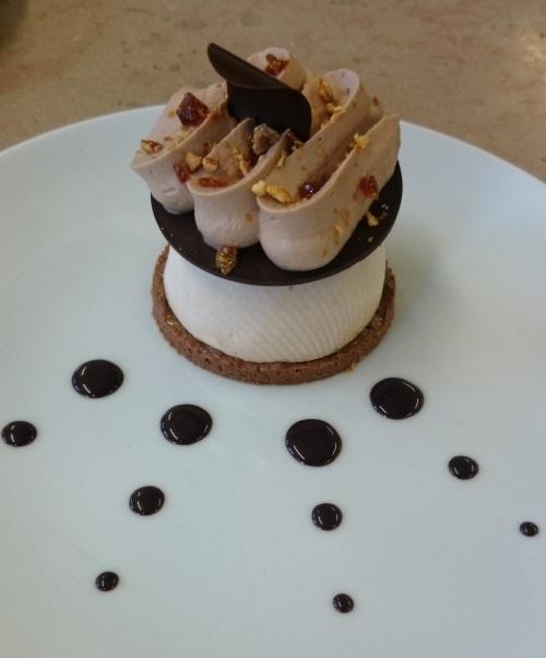 Royal au chocolat revisité