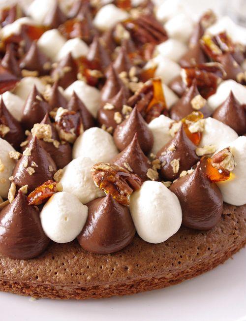 Fantastik chocolat et noix de pécan