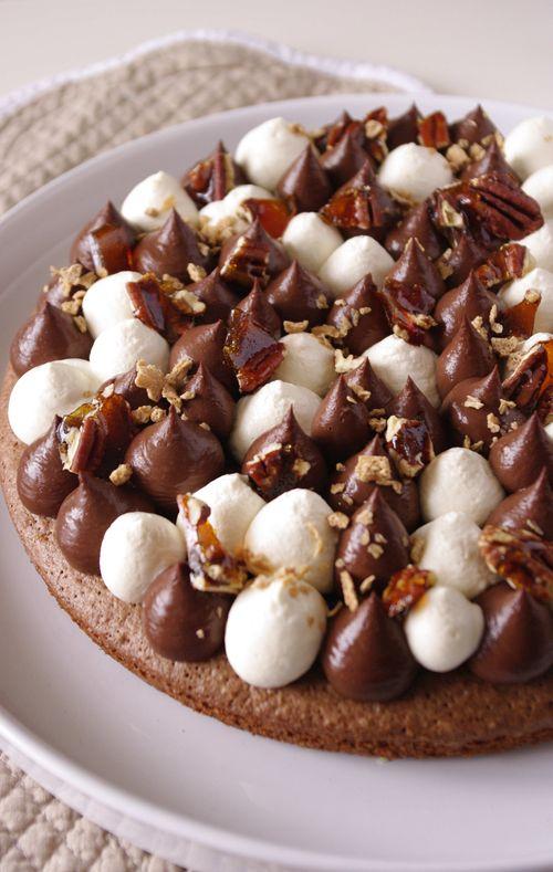 Fantastik au chocolat, sirop d'érable et noix de pécan