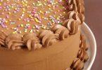 Gâteau d'anniversaire chocolat noisettes