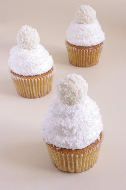 Cupcakes coco façon Rafaello