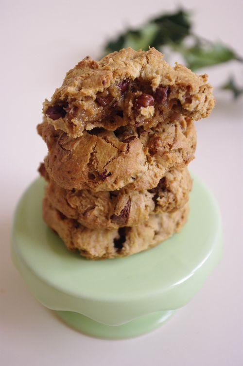 Cookies aux noix de pécan et chocolat Caramelia
