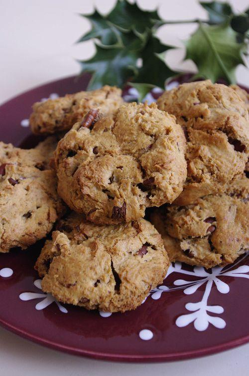 Cookies aux noix de pécan et Caramelia