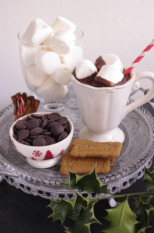 Stand chocolat chaud