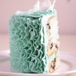 Belle part de ruffle cake