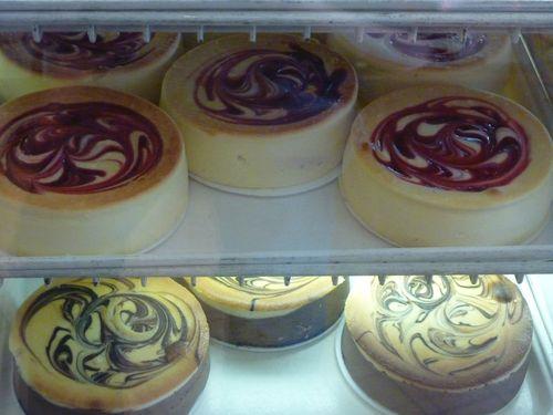 Cheesecakes tourbillon de chez Junior's à New York