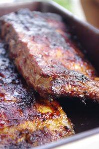 Ribs caramélisés au barbecue