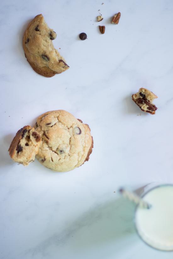 Cookies à la fois croustillants et fondants