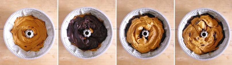 Comment réaliser un effet marbré dans un gâteau