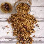 Recette de base de granola, ici en version automne