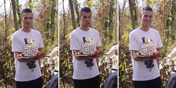 Tom le pâtissier et son gâteau hérisson