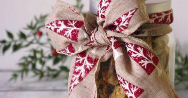 Biscotti de Noël aux pistaches et cranberries
