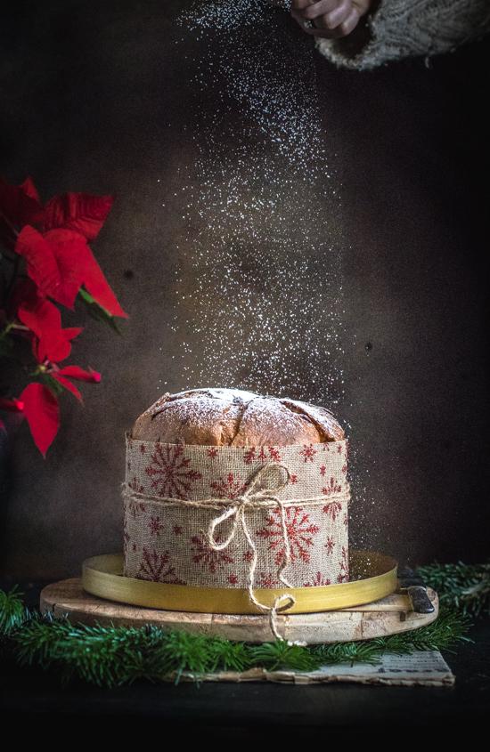 Panettone agrumes, marrons et noisettes | I Love Cakes