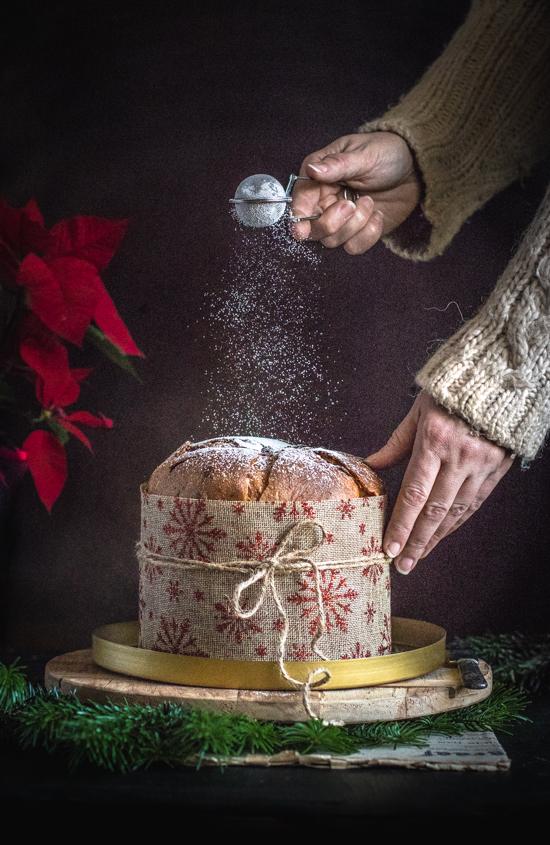 Panettone recette hivernale aux marrons glacés | I Love Cakes