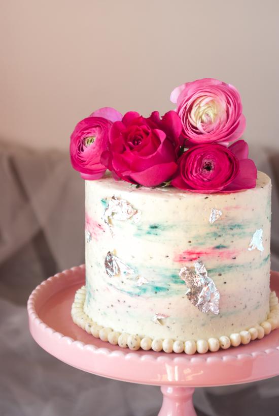 Un layer cake aux fruits rouges et au thé Mariage frères