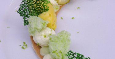 Explosion dessert à l'assiette