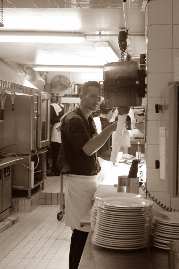 Tom en cuisine