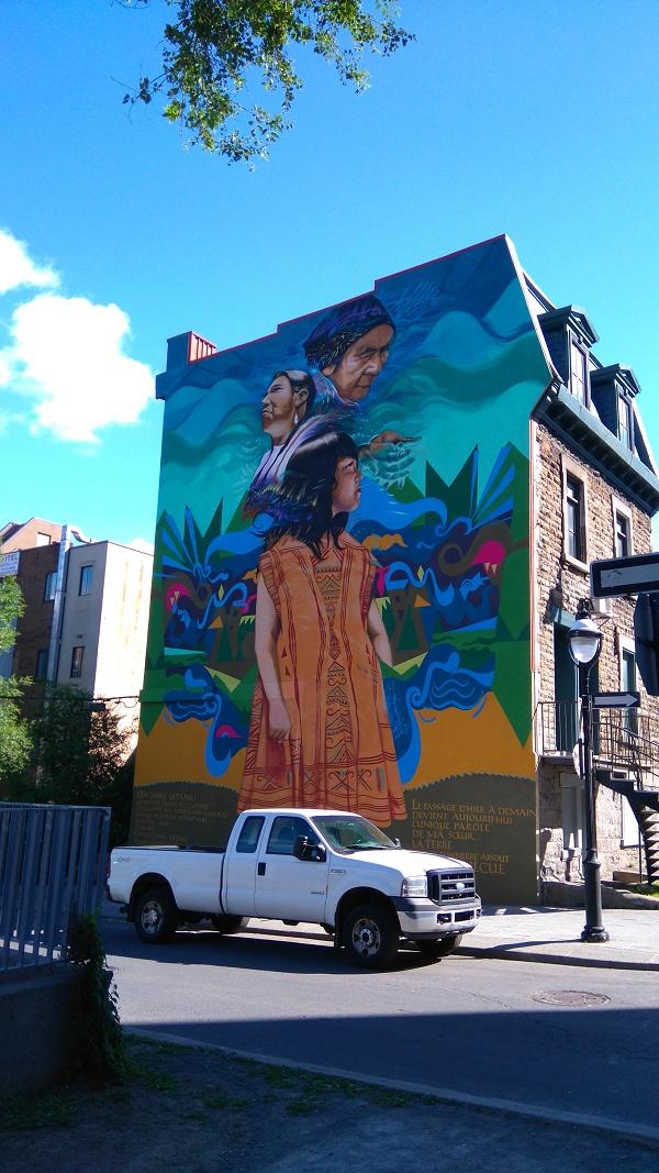 Street art Indians